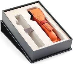Набор с <b>чехлом</b> Parker из <b>натуральной кожи</b> и местом для ручки ...