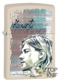 <b>Зажигалка Kurt Cobain ZIPPO</b> 29051 купить в Москве в интернет ...