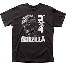 Godzilla Scream Japanese T-Shirt: Clothing - Amazon.com