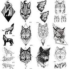 <b>WYUEN 12 PCS/lot Mountain</b> Temporary Tattoo Sticker for Women ...