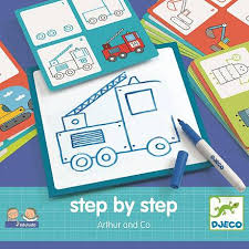 Развивающий набор для рисования - <b>Артур и Ко</b> от <b>Djeco</b> ...
