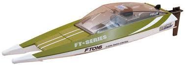 <b>Радиоуправляемый катер Feilun</b> FT016 Racing Boat Green RTR ...