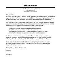 best accountant cover letter examples livecareer