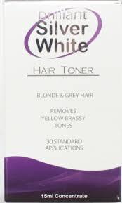 Brilliant Silver WHITE 15ml - Hair Plus