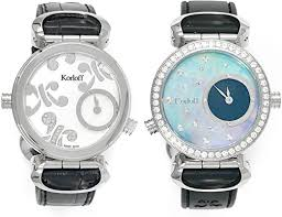 Korloff Women's Analogue Quartz Watch Diamond ... - Amazon.com