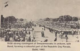 ஆர்.எஸ்.எஸ் 1963-ஆம் ஆண்டு குடியரசு தின விழா