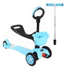 <b>Самокат</b>-Каталка <b>Corol 3</b>-<b>х колесный</b> L-306 BLUE GL000145117 ...
