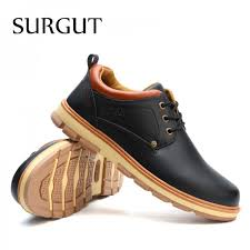 Buy Shoes <b>New Spring and Autumn</b> Casual Fashion Safety Oxfords ...