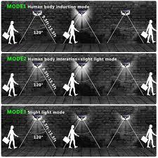 <b>Solar Lights Outdoor</b>,[2 Pack] iClover Solar Powered Motion Sensor ...