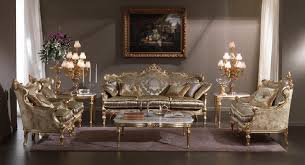 interior elegant antique living room furniture with luxury silver sofa and square table with grey antique living room furniture sets