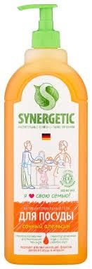 Synergetic <b>Антибактериальный гель для мытья</b> посуды Сочный ...