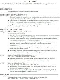 objective resume cover letter sample resume template for college student with senior client associate experience student example of an objective in a resume