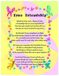 Best Friend Poems That Make You Cry and Laugh | True Friendship ...