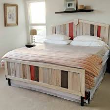 bed of euro pallets themselves building diy bedroom furniture bedroom furniture diy