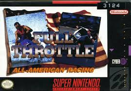 Video game:Super Nintendo <b>Full Throttle</b>: All-American Racing ...