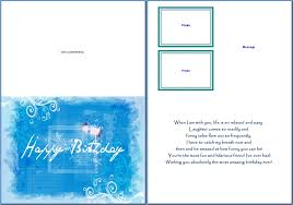 card word birthday card template word birthday card template medium size