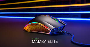<b>Razer Mamba Elite</b> | 5G Advanced Ergonomic Gaming Mouse