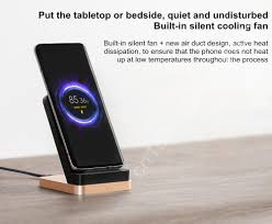 2020 <b>New Xiaomi 55W Wireless</b> Charger Max Vertical air cooled ...