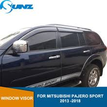 <b>Дефлекторы боковых окон</b> для Mitsubishi Pajero SPORT 2013 ...