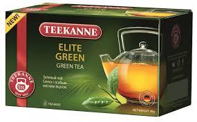 <b>Чай зеленый ELITE Green</b>, 20 пакетиков * 1.5 г, <b>TEEKANNE</b>