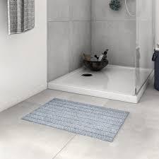 <b>Коврик для ванной</b> комнаты <b>Essential</b> 60x40 см цвет тёмно-серый