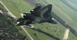Исполнение «Плоского <b>штопора</b>» Су-57 снято на видео