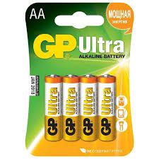 Батарейка GP Ultra, AA LR6 (4 штуки) | Купить с доставкой | My ...