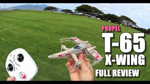 PROPEL <b>STAR WARS T</b>-65 X-WING Review - [Unbox / Inspection ...