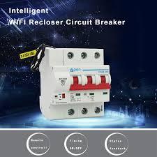 <b>OPEN</b> 3P wifi <b>Remote</b> control Circuit breaker/ Smart Switch overload ...