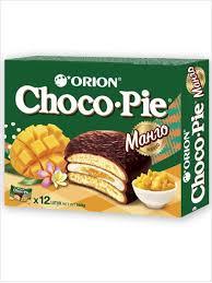 Мучное кондитерское изделие <b>Choco Pie</b> MANGO (Чоко пай ...