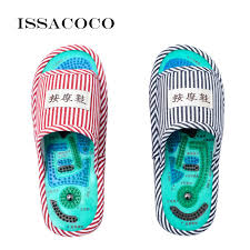 <b>ISSACOCO</b> Acupressure Slippers Men's Acupuncture Foot Massage ...