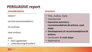 Consultants     the perfect PERSUASIVE report structure   John     LinkedIn