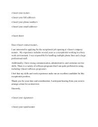 Cover Letter For Job Application In A Hotel   Resume Maker  Create     SlideShare