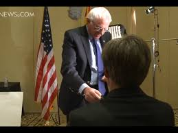 watch frustrated bernie sanders walks out on hostile tv news watch frustrated bernie sanders walks out on hostile tv news interview