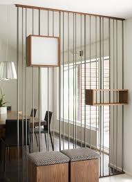 living room dividers ideas attractive: creative decoration interior charming wooden square decors with rail iron room dividers ideas for divide dining
