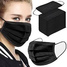 100PCS 3 ply black disposable face shield filter ... - Amazon.com