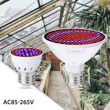 <b>CanLing E27 LED 220V</b> Plant Light E14 Grow Bulb GU10 Seedling ...