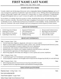 auto mechanic resume skills cipanewsletter automotive mechanic resume resume examples