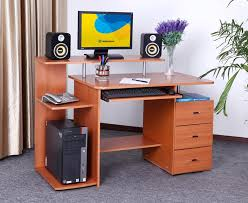 design computer table furniture counter idea cool wooden home computer desk for your home offices awesome elegant office furniture concept