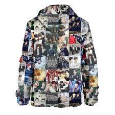 <b>BTS</b> Collage <b>Мужская куртка</b> 3D с принтом за 4840 ₽ купить в ...