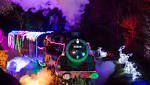 World first Christmas light train display to be staged in Devon