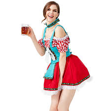<b>Oktoberfest Party Dresses Choker</b> Sexy Beer Women Girls Carnival ...
