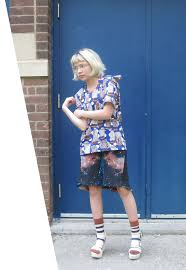 tavi gevinson: wooden striped braided <b>nebulae</b> | Outfits, Style, Floral ...