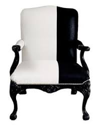black and white chair black and white furniture