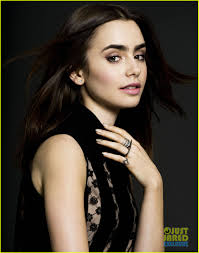 About this photo set: Lily Collins looks super fierce in a Thakoon dress in this exclusive photo for Just Jared's Spotlight of the Week, ... - lily-collins-just-jared-spotlight-of-the-week-exclusive-01