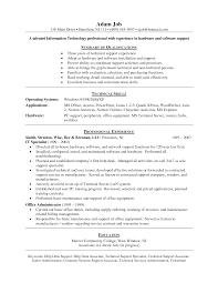 contract administrator junior resume