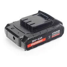 <b>Батарея аккумуляторная PATRIOT</b> 180201103 Li-Ion, 2 Ач для BR ...