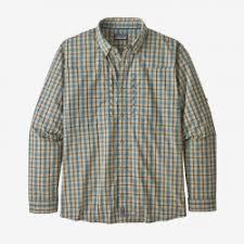 <b>Рубашка Patagonia</b> Men's <b>Long</b>-<b>Sleeved</b> Pima Cotton