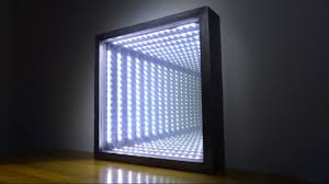 How to Make an <b>Led</b> Infinity Illusion Mirror - YouTube