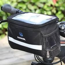 Outdoor Bike Cycling <b>Bicycle Handlebar Bag Front</b> Frame Tube ...